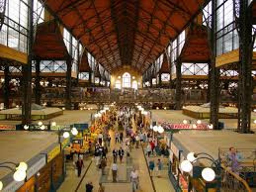 Tourism Days In Central Market Hall Budapest  In 2014