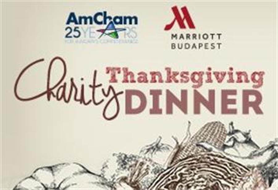 AmCham Charity Thanksgiving Dinner, 25 November