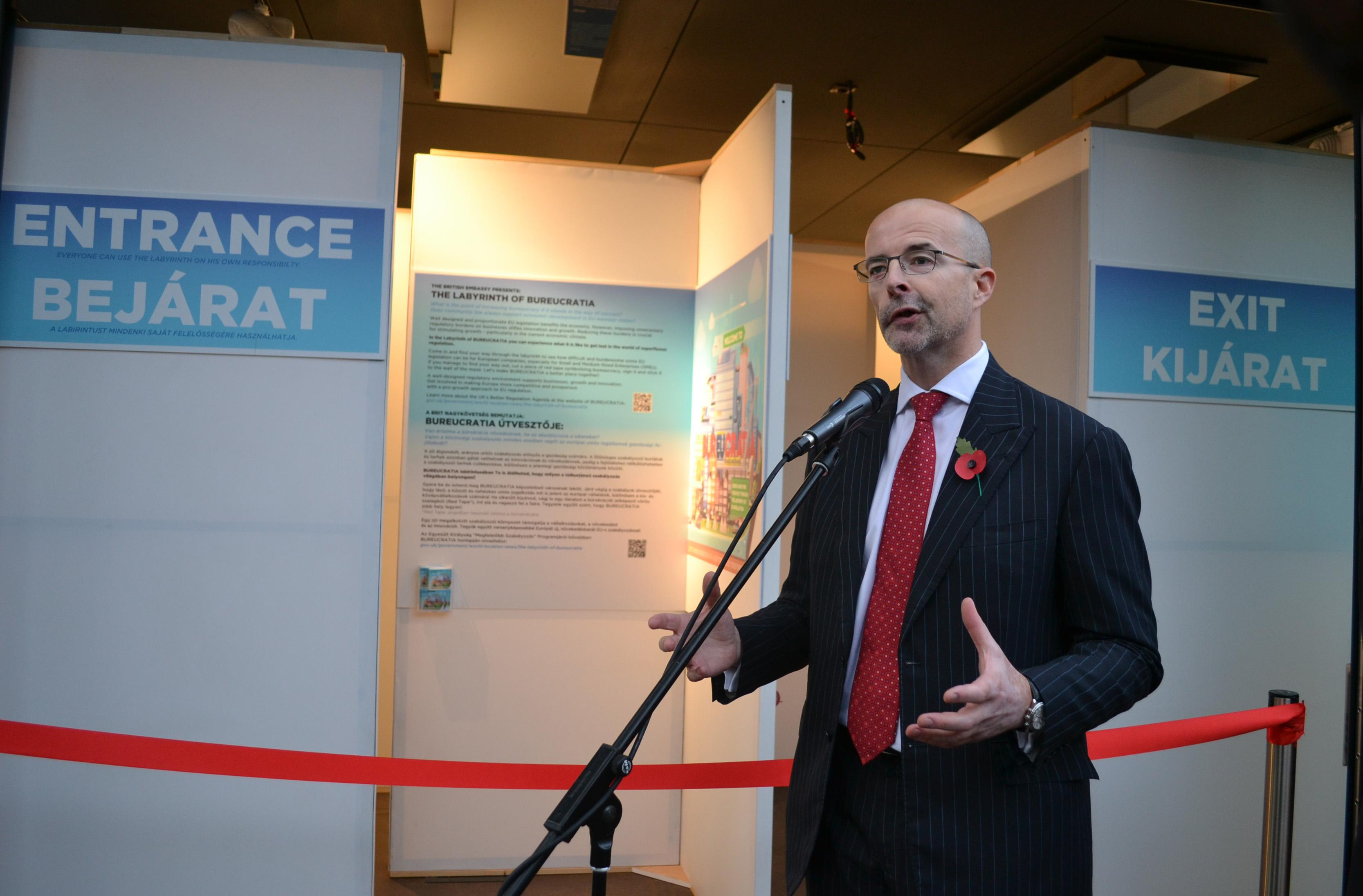 UK Embassy Budapest Highlights EU Red Tape