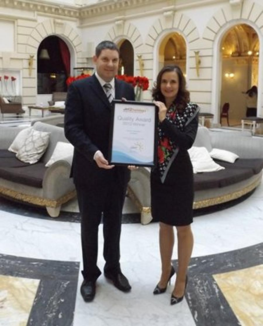 Boscolo Budapest Received The First Award This Year