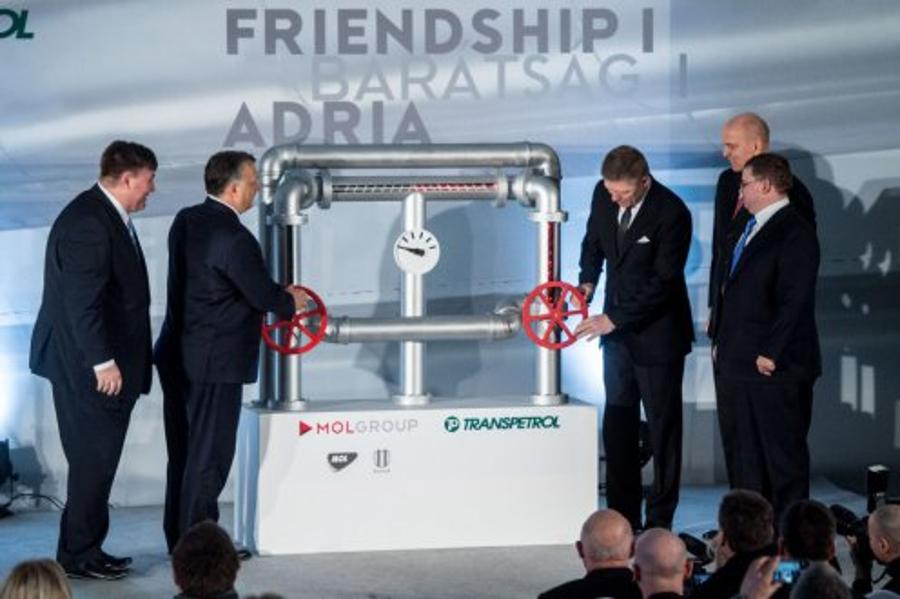 Hungary's PM & Robert Fico Inaugurate Reconstructed Section Of Friendship I Oil Pipeline
