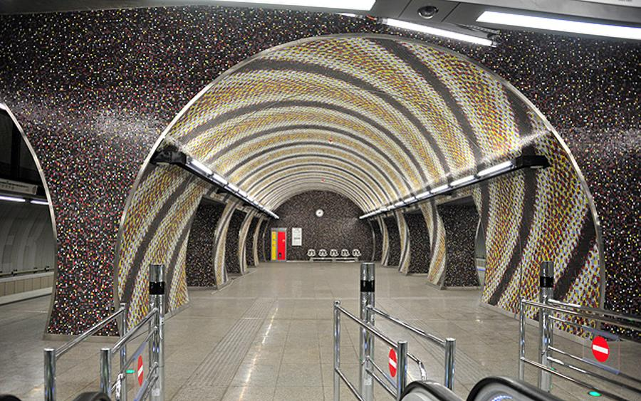 Two Stations Of The Metro Line 4 In Budapest Awarded