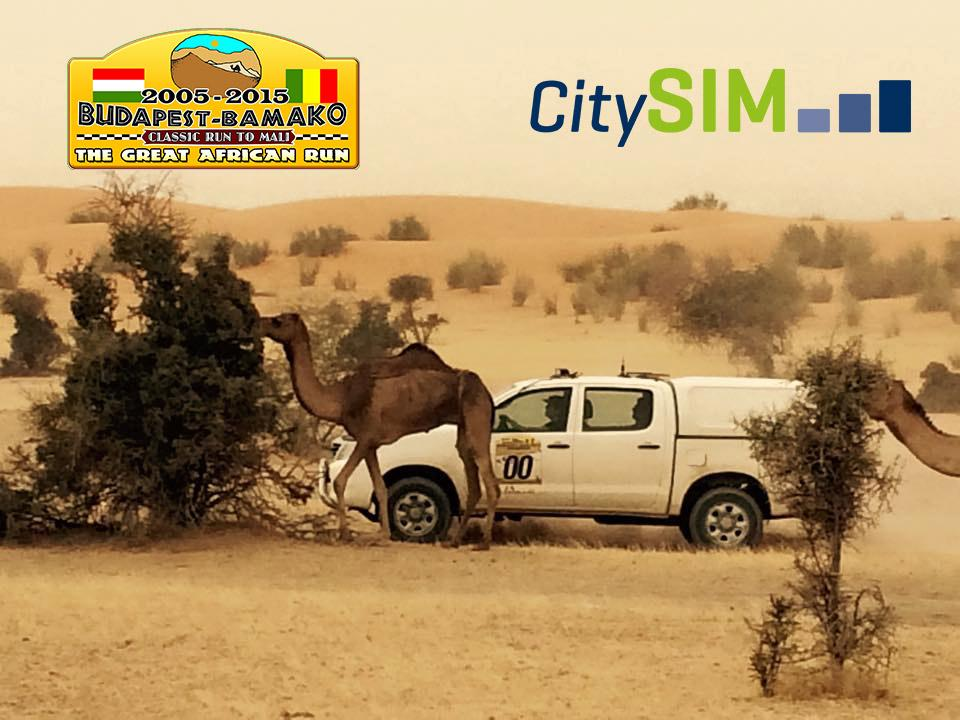 Budapest-Bamako Rally '15 Report, Sponsored By CitySIM