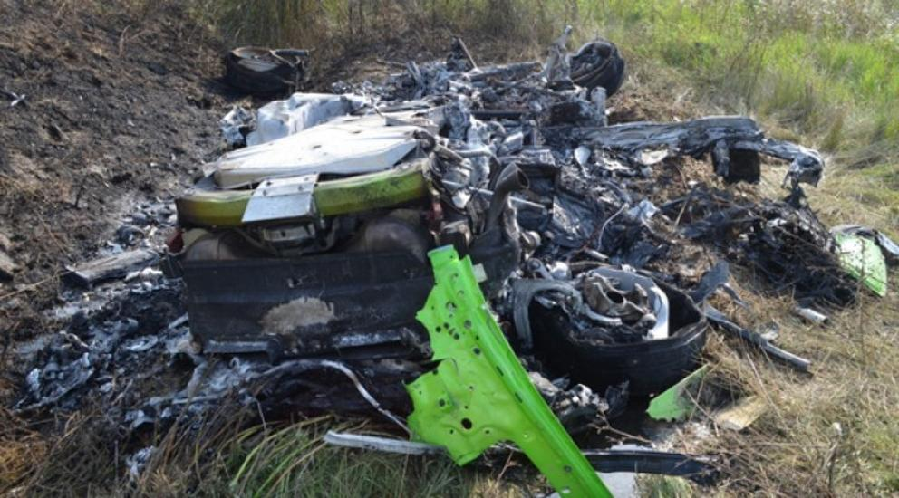 Police Release Video Of 330kph Lamborghini Crash On M7 Motorway