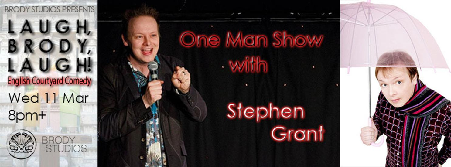 Xpat Comedy Night: One Man Show By Stephen Grant, 11 March