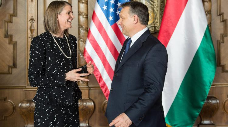 Rapport Between Hungary & United States Improves