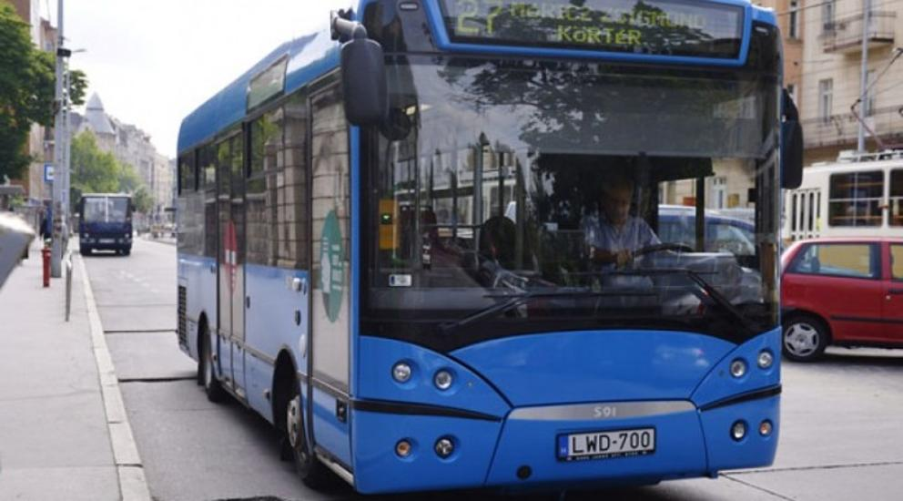 Sixteen New Midibuses To Replace Budapest's Worn-Out Fleet This Year