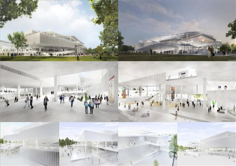Two Winners For Hungary's New National Gallery