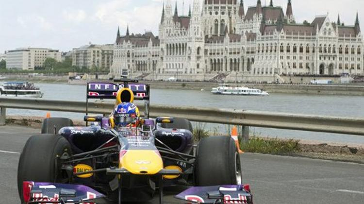 Great Race 3 In Budapest, 1 May