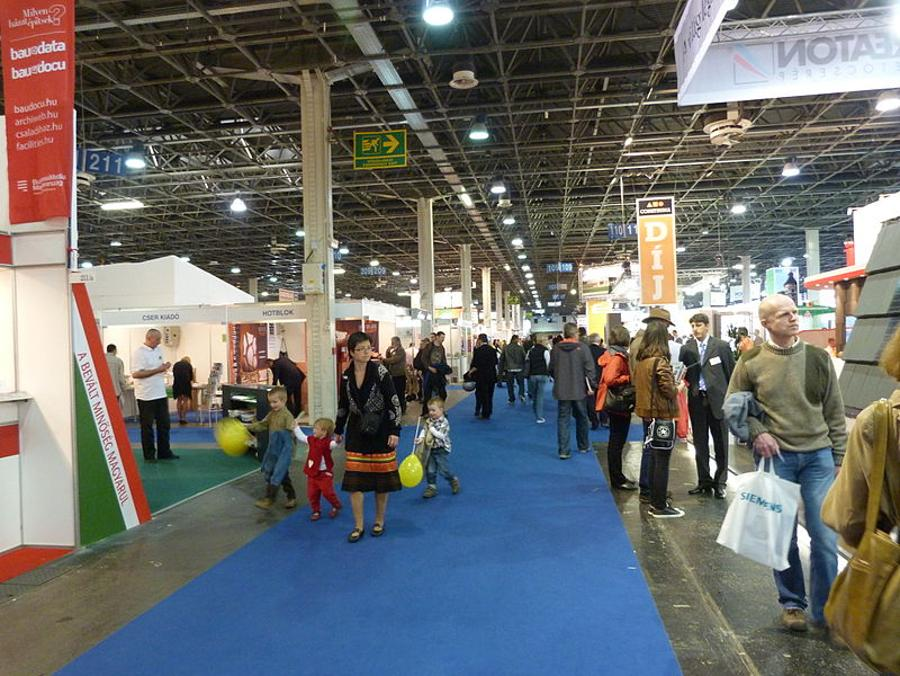 Budapest's Construction Fair Attracts 50,000 Visitors