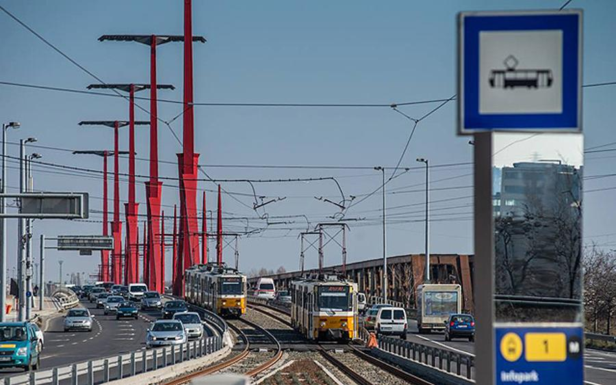 Extension Of Tram Line 1 To Újbuda Has Been Completed