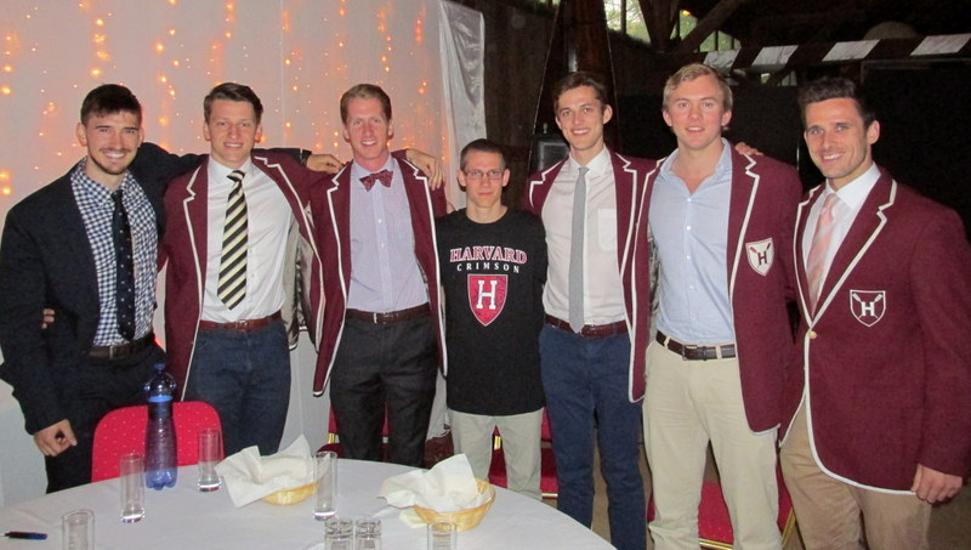 What Is The Harvard University Rowing Team's Message To Hungarian Students?