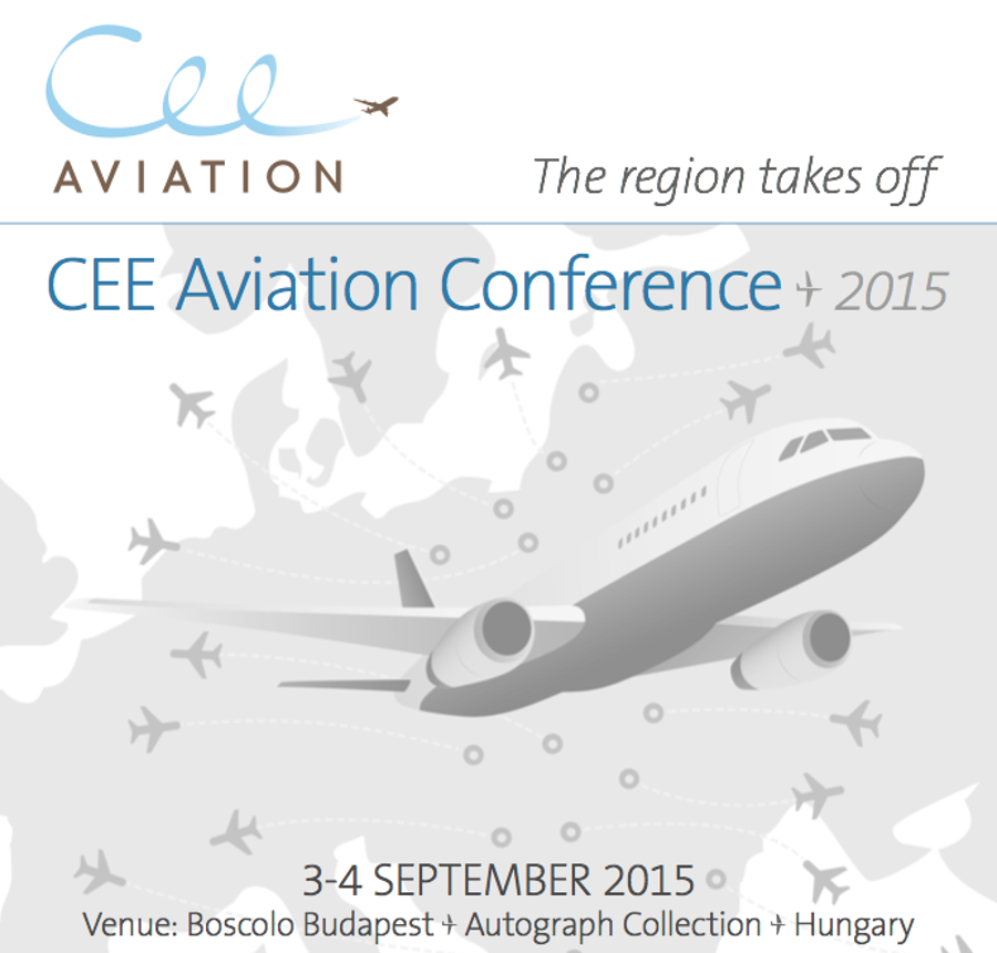 CEE Aviation Conference 2015, Budapest, 3 – 4 September
