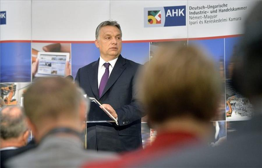 PM Orbán Addresses German-Hungarian Chamber Of Commerce