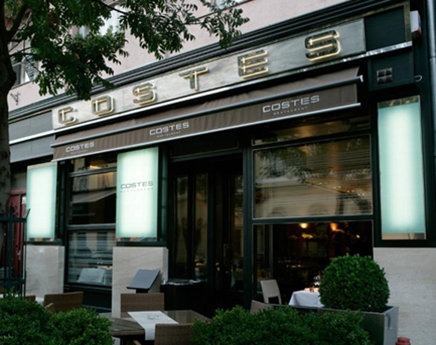 Maintenance Works In Costes Restaurant In Budapest