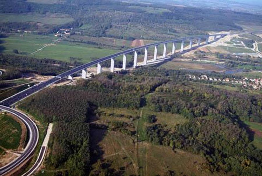 Drone Imagery: Hungary's Longest Bridge