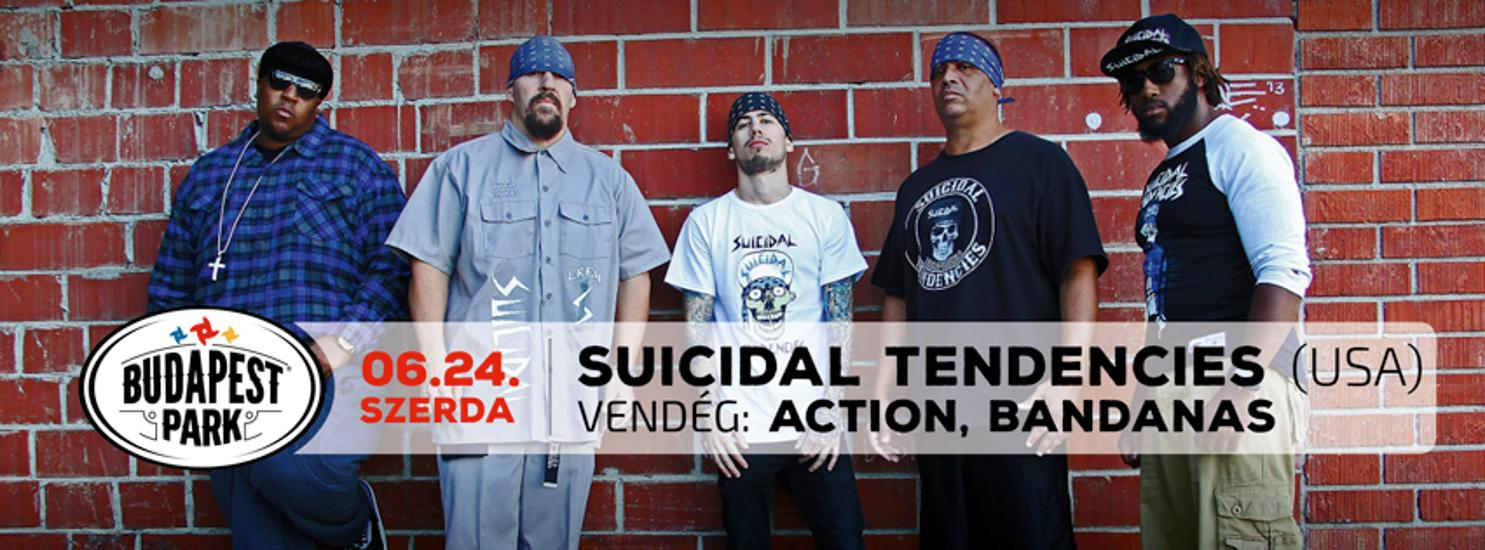 Suicidal Tendencies (USA), Budapest Park, Today