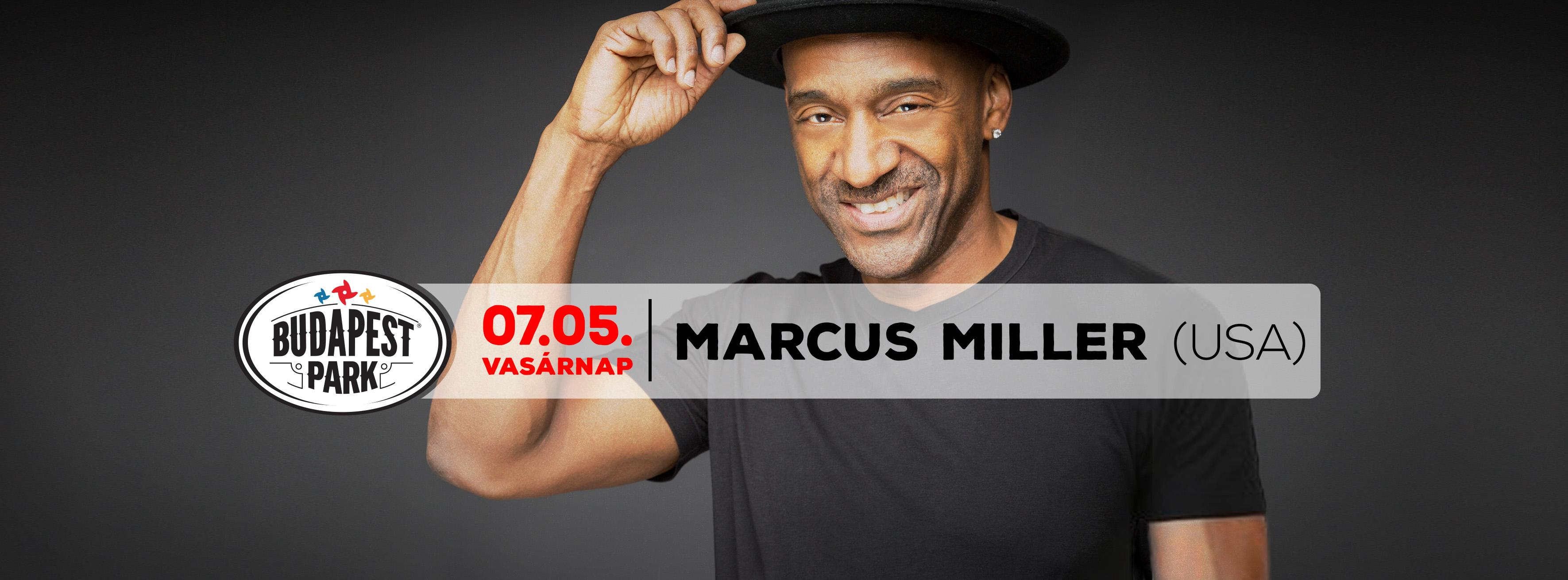 Marcus Miller (USA), Budapest Park, 5 July