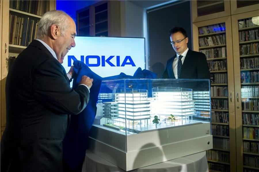 Nokia Opens Hungary's Largest R+D Centre