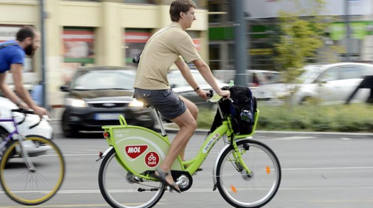 Budapest's Bike-Sharing Network Bubi Gets 20% Extension This Summer
