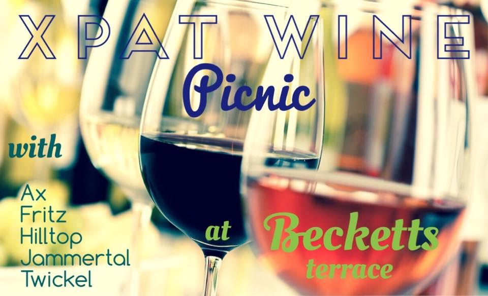 Updated: Xpat Wine Picnic, Becketts Terrace, 28 July