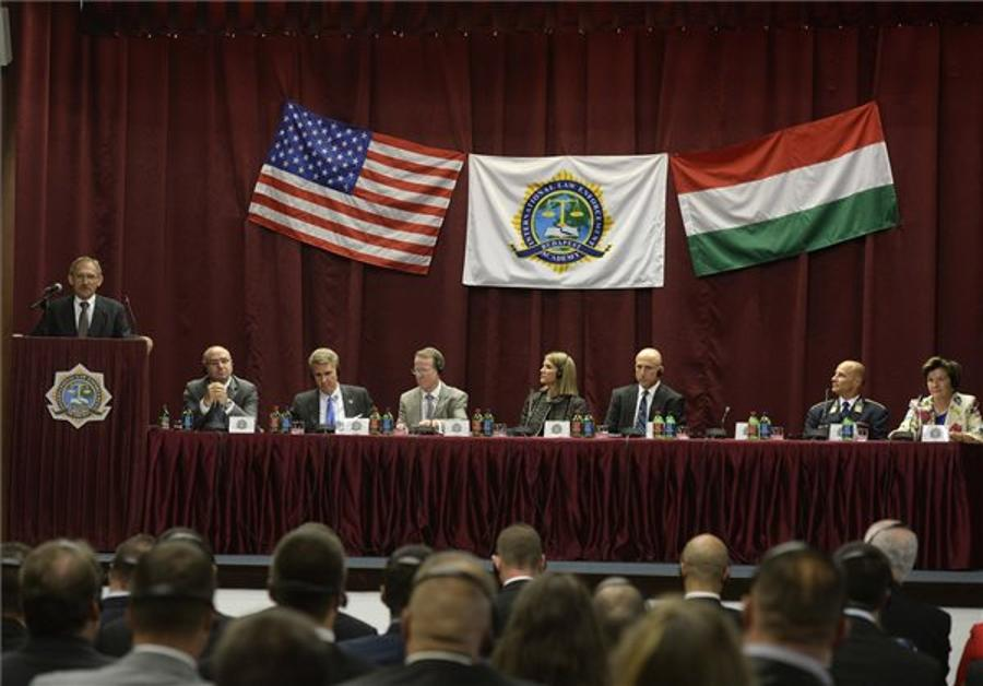US State Dept Official Praises Budapest ILEA At 20th Anniversary