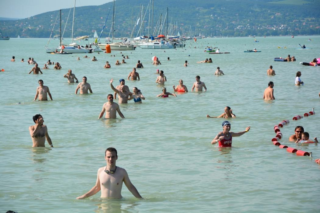 Hungary's Balaton Swim Set For 4 July
