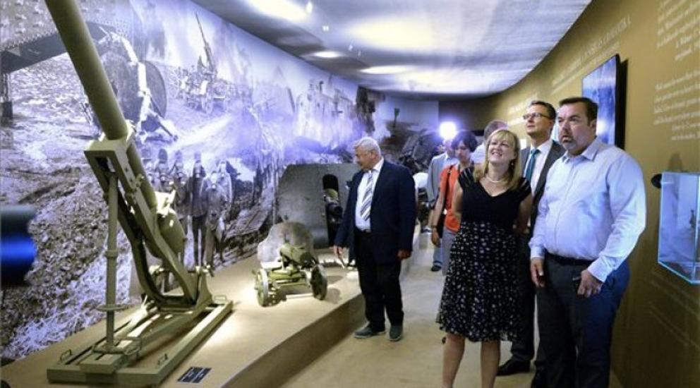WWI Centenary Exhibition Opens At Várkert Bazár