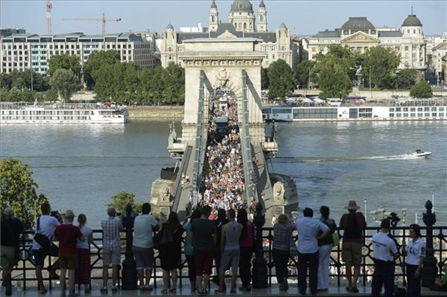 Budapest Pride Parade A Peaceful Success