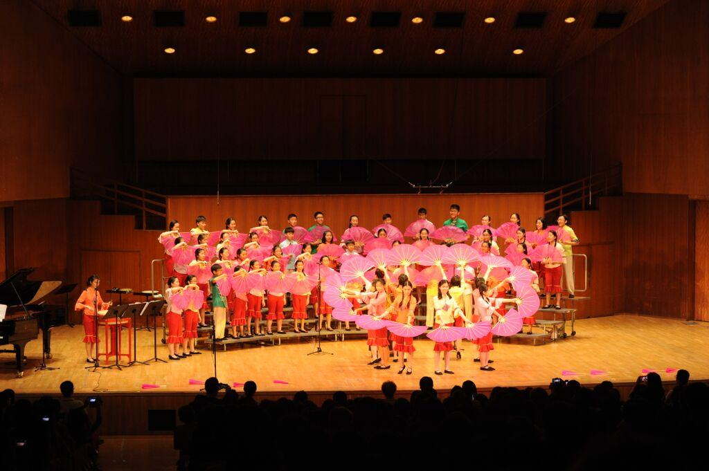 The Hong Kong Children's Choir, Hungarian National Gallery, Budapest, 31 July