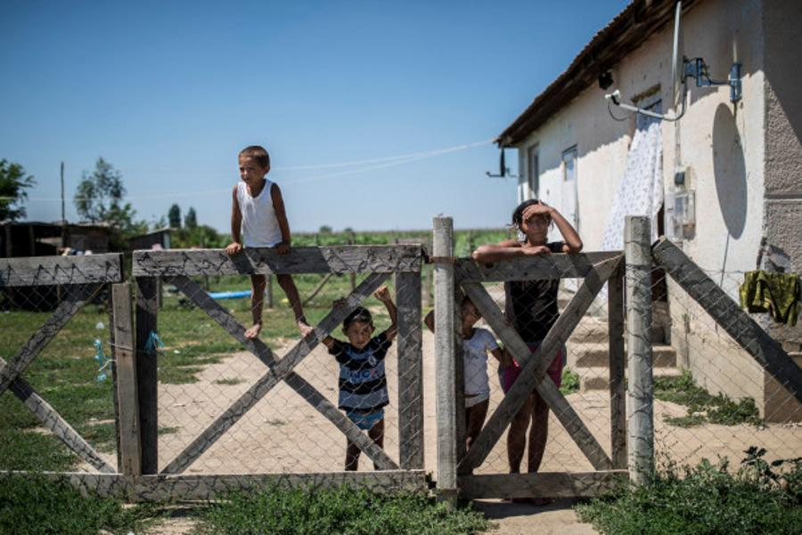Hungry Children In Hungary