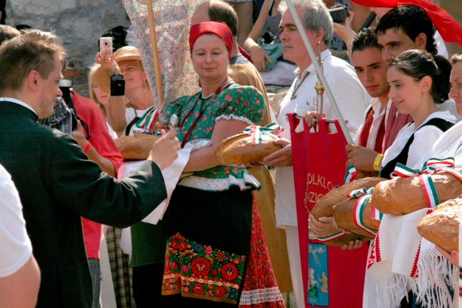 Consecration Of The Bread, Budapest, 20 August