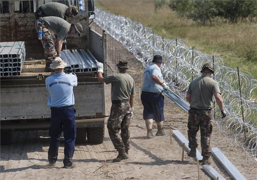 Hungarian Border Fence Fails To Stem Influx Of Migrants