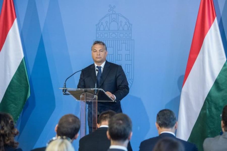 Hungary's PM: We Are Experiencing A Crisis Of Liberal Identity