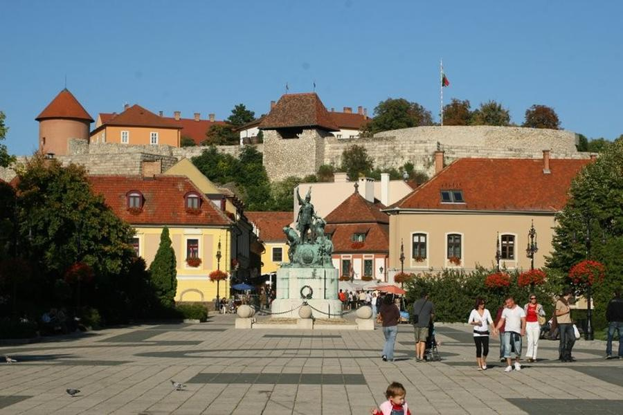 EU Funding Helped Refurbish Historic City Centre Of Eger