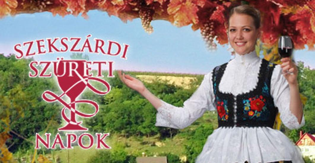 Szekszárd Grape Harvest Festival, 17 - 20 Sept