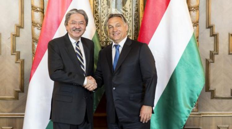 Hungary's PM & Hong Kong Financial Secretary Discuss Economic Cooperation