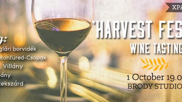 Reminder: Xpat Wine Club 'Harvest Festival', Brody Studios, 1 October