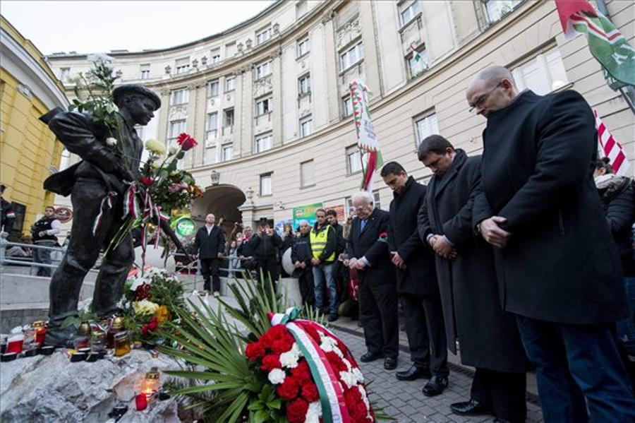 Hungarian Opposition Mark 1956 Anniversary