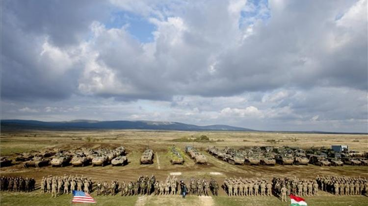 Brave Warrior War Game In Hungary Ends