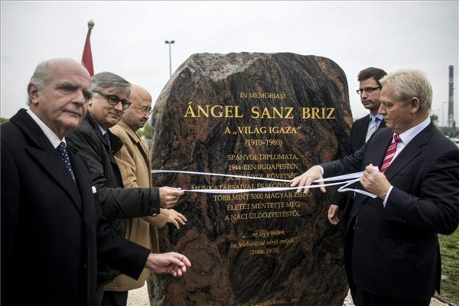 Budapest Road Named After Spanish Diplomat Who Saved Jews During Holocaust