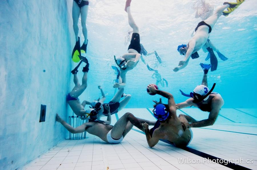 Video: Underwater Rugby Is All The Rage In Hungary
