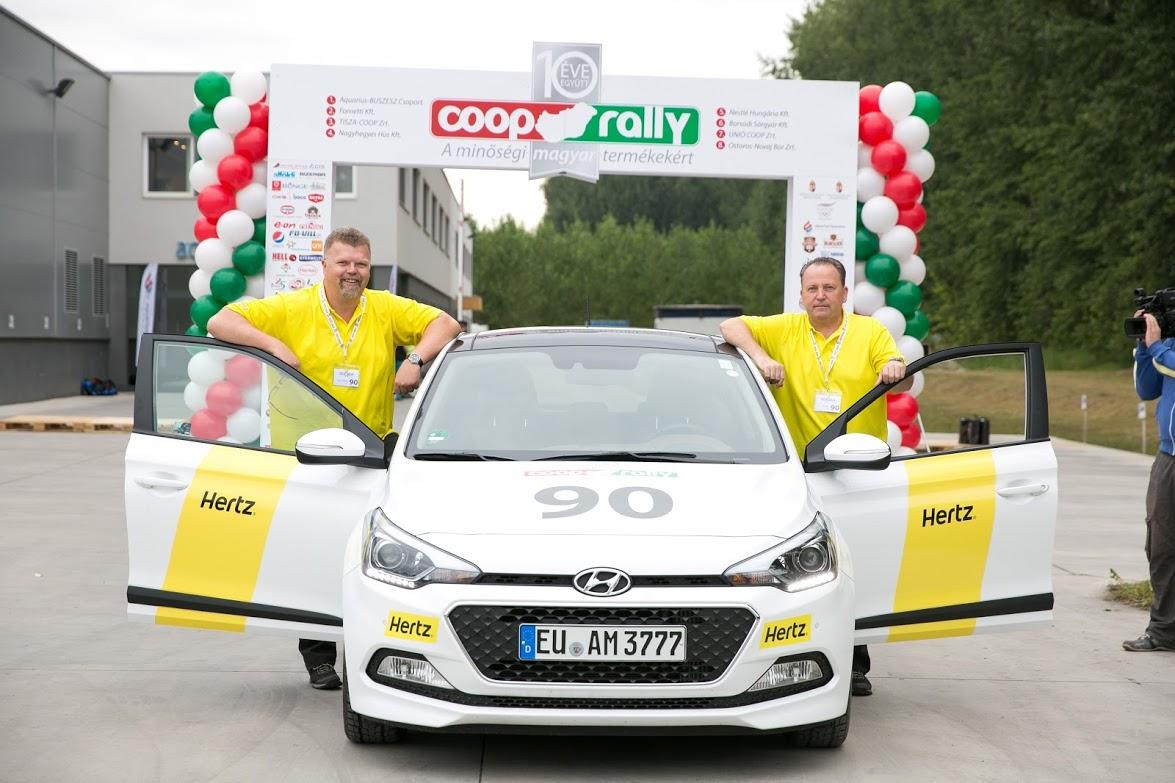 Coop Rally Took Place Again With Hertz Autorent Budapest