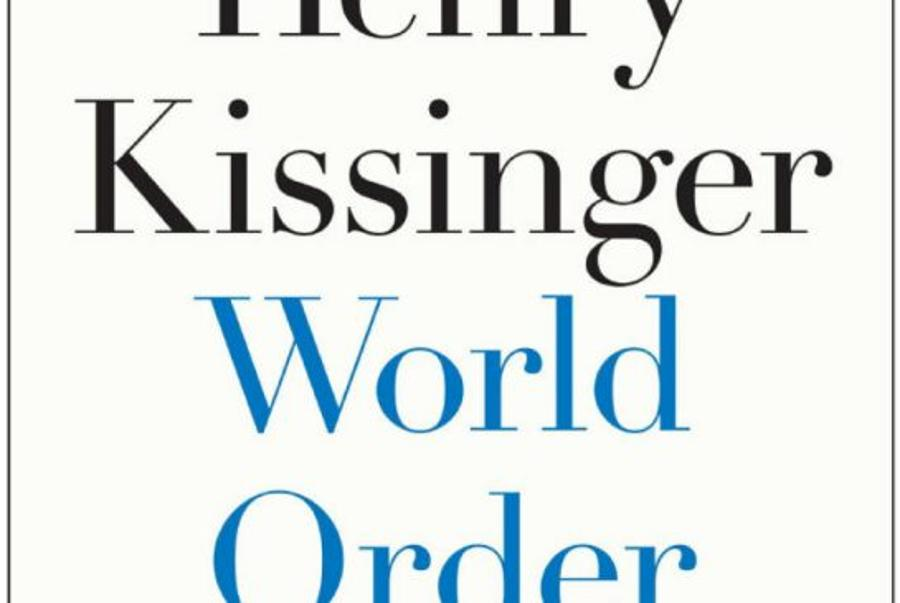 Kissinger's Latest Title World Order Presented In Budapest