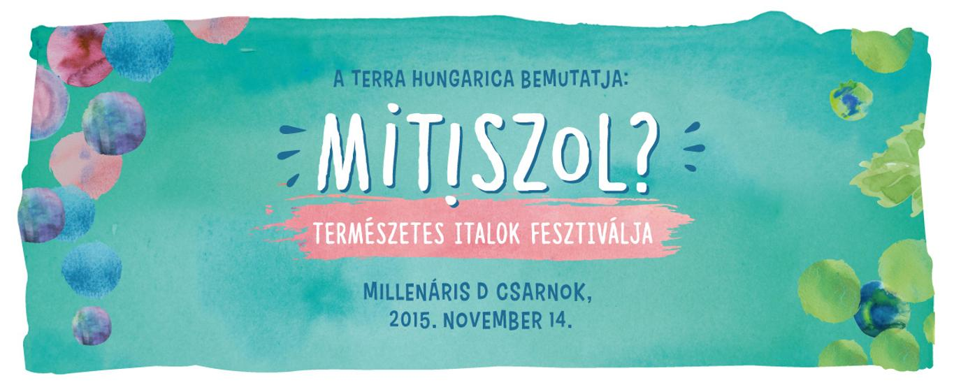 """What Do You Drink?"": Mitiszol Festival 2015, 14 November"