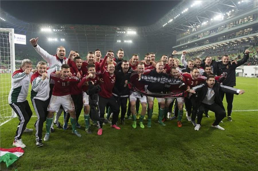Hungarian Footballers Advance To Euro 2016