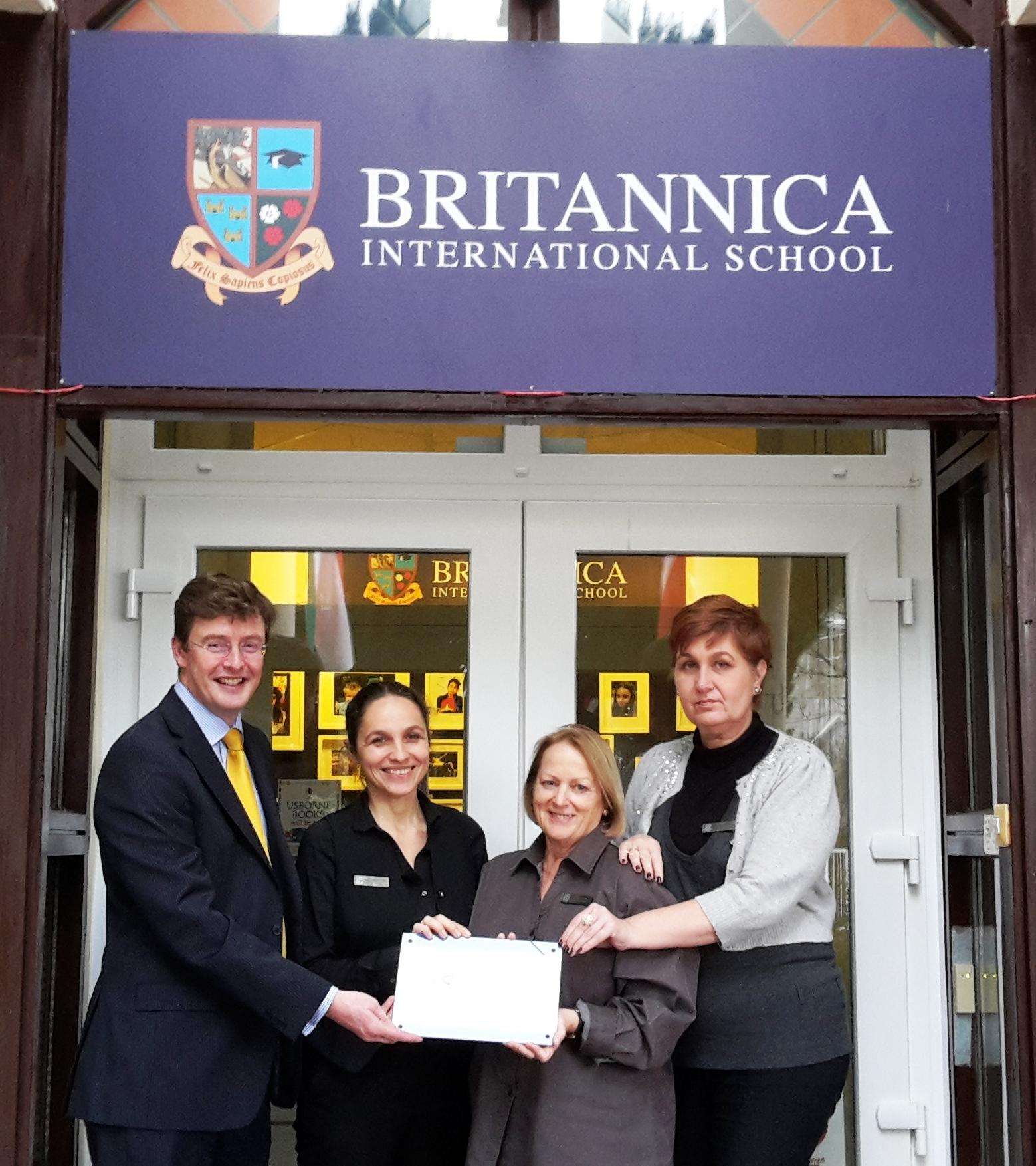 Award Of CIS Accreditation To Britannica International School, Budapest