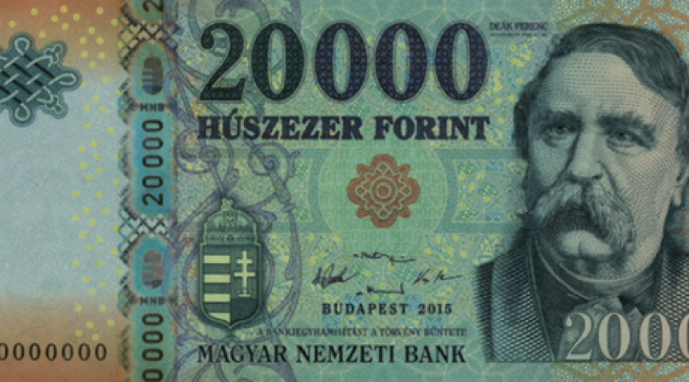 Hungary Introduces New 20.000 Forint Banknotes