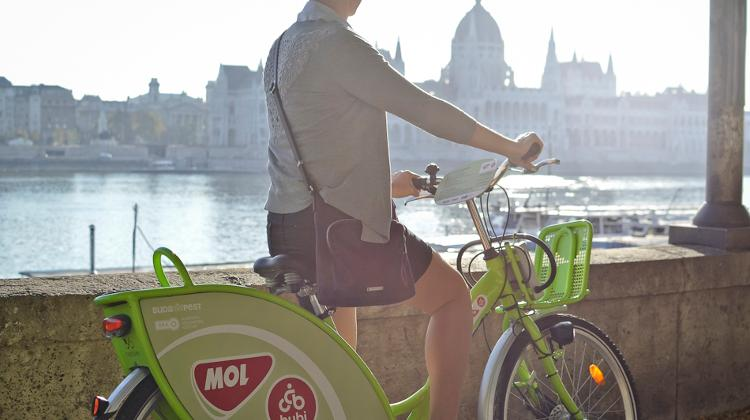 MOL Bubi Budapest Bike Sharing System: Over 1 Million Rents