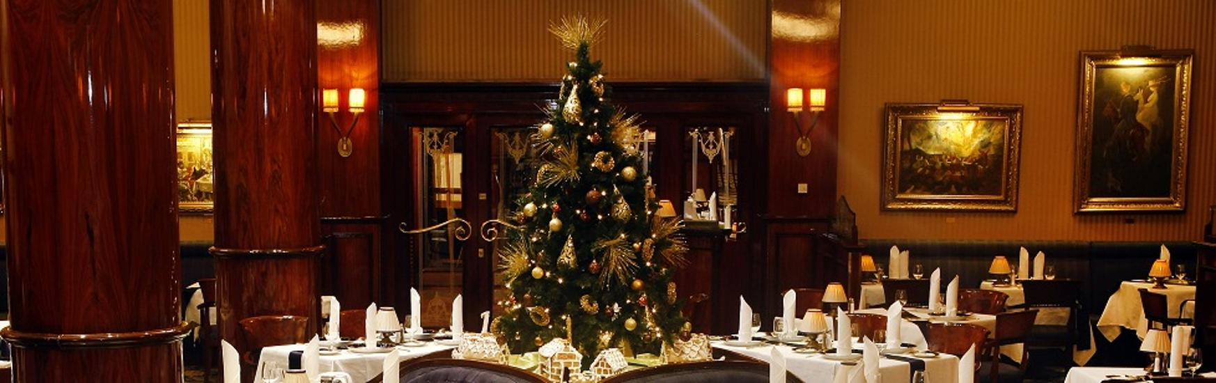 Celebrate Christmas @ Gundel Restaurant In Budapest